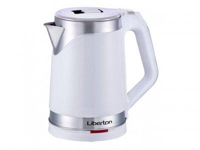 Електрочайник-термос LIBERTON LEK-2201 White