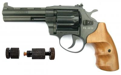Револьвер под патрон Флобера Safari РФ 441 М + Обжимка патронов Флобера в подарок
