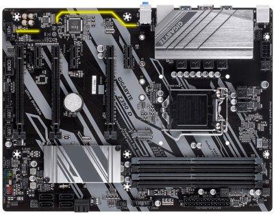 Материнська плата Gigabyte Z390 D Socket 1151