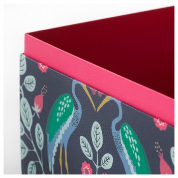 Коробочки для подарунків IKEA (ІКЕА) ANILINARE 2 шт червоний зелений (404.021.04)