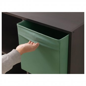Коробка IKEA (ІКЕА) DRÖNA 33х38х33см темно-зелена (202.988.01)