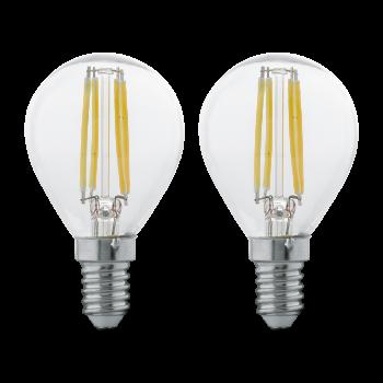 Світлодіодна лампа Eglo 11507 E14 LED P45 (2 шт в наборі) 4W 2700K