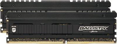 Оперативна пам'ять Crucial DDR4-3600 16384 MB PC4-28800 (Kit of 2x8192) BallistiX Elite (BLE2K8G4D36BEEAK)