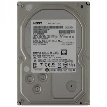 Жорсткий диск 3.5 quot; 2TB WDC Hitachi HGST (0F23029 / HUS726020ALE614)