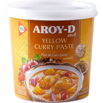 Паста карри Aroy-D желтая 400г