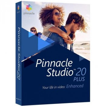 ПО для мультимедіа Corel Pinnacle Studio 20 ML Plus RU/EN for Windows (PNST20PLMLEU)