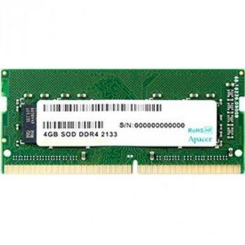 Модуль памяти для ноутбука SoDIMM DDR4 4GB 2133 MHz Apacer (AS04GGB13CDWBGH)