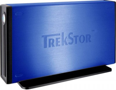 "Жорсткий диск Trekstor DataStation maxi m.ub 3.5"" 500Gb USB 2.0 (TS35-500MMUBL) Blue Refurbished"