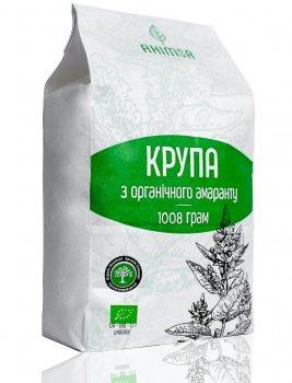 Крупа амаранта Ahimsa органическая 1008 г