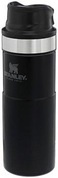 Термокухоль Stanley Classic Trigger-action 470 мл Matte Black (6939236348072)