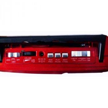 Радиоприемник-колонка MP3 Golon RX-177 + фонарь RED (DM00108)