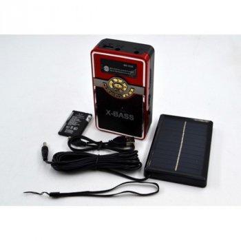 Радиоприёмник Meibony MB-V028S c солнечной батареей RED (DM00113)