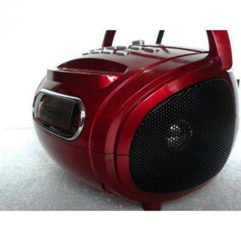 Радиоприемник-бумбокс GOLON RX-686 RED (DM00118)