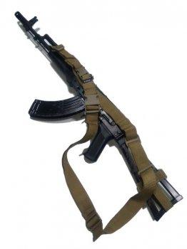 Ремень AKINAK оружейный трехточечный Койот