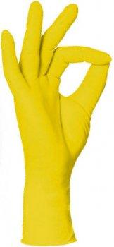 Перчатки нитриловые STYLE LEMON Ampri 100 шт желтые XS