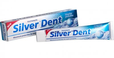Зубная паста Modum Silver Dent Комплексная защита 100 г (А107-201)