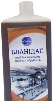 Бланидас - засіб для видалення жирових забруднень, 1 л