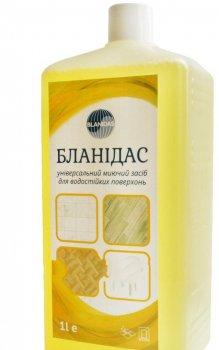 Бланидас - універсальний миючий засіб для водостійких поверхонь, 1 л