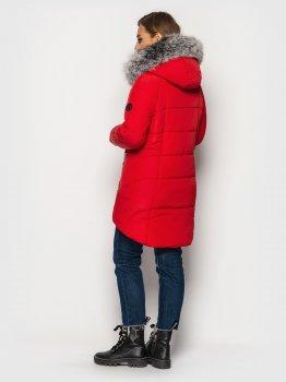 Женская куртка зимняя MODA 000318-1 Красный (000318-1)