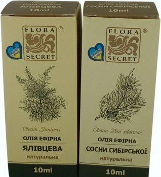 Эфирные масла Flora Secret Пара хвойная 10 мл х 2 шт (4820112080594)