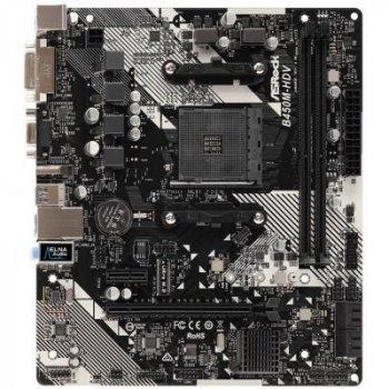 Материнська плата ASRock B450M-HDV R4.0