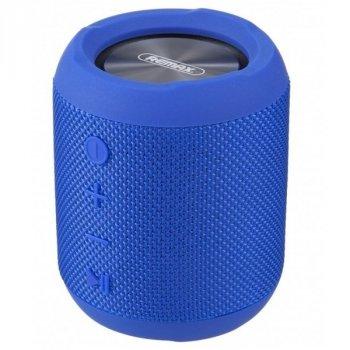 Портативна акустична система REMAX Bluetooth Fabric RB-M21 Blue
