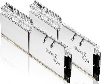 Оперативная память G.Skill DDR4-3200 16384MB PC4-25600 (Kit of 2x8192) Trident Z Royal (F4-3200C16D-16GTRS)
