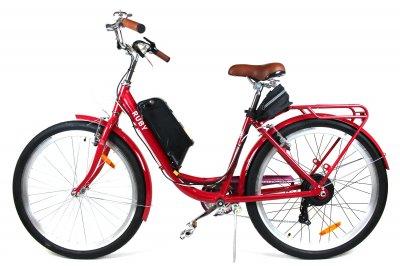 Электровелосипед RUBY колесо 26 36В 350Вт 10Ач литий ионный аккумулятор