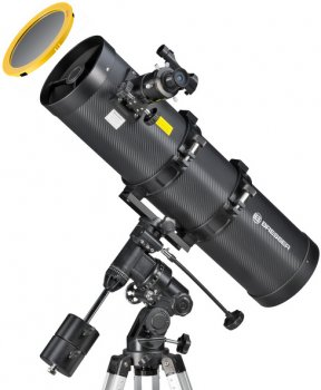 Телескоп Bresser Pollux 150/750 EQ3 Solar Carbon (927556)