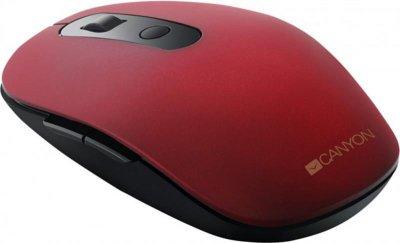 Миша Bluetooth+Wireless Canyon CNS-CMSW09R Red USB