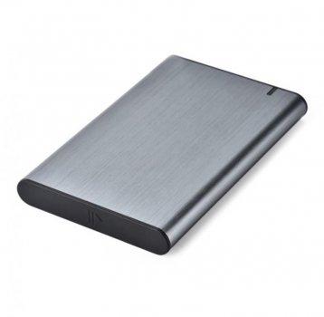 """Зовнішній кишеню Gembird SATA HDD 2.5"""", USB 3.1, алюміній, Grey (EE2-U3S-6-GR)"""