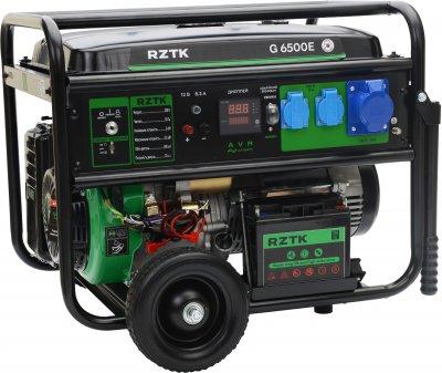 Генератор бензиновый RZTK G 6500E