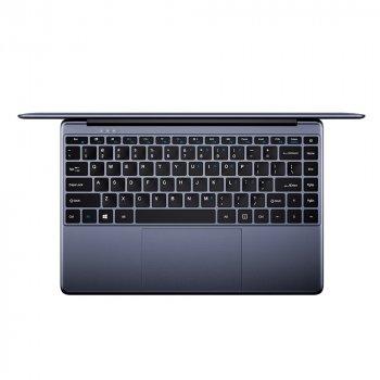 """Ноутбук Chuwi HeroBook Pro 14.1"""" Gray; 14.1"""" (1920x1080) IPS LED, глянцевий / Intel Celeron J4105 (1.5 - 2.5 ГГц) / RAM 8 ГБ / SSD 256 ГБ / Intel UHD Graphics 600 / ні ВП / Wi-Fi / BT / веб-камера / Windows 10 Home / 1.39 кг / сірий"""