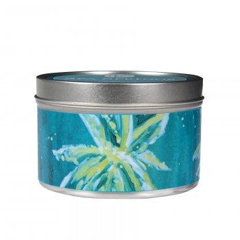 Свічка ароматизована в табакерці Greenleaf Spa Spring Джерело Спа 5х8 см (14716773)