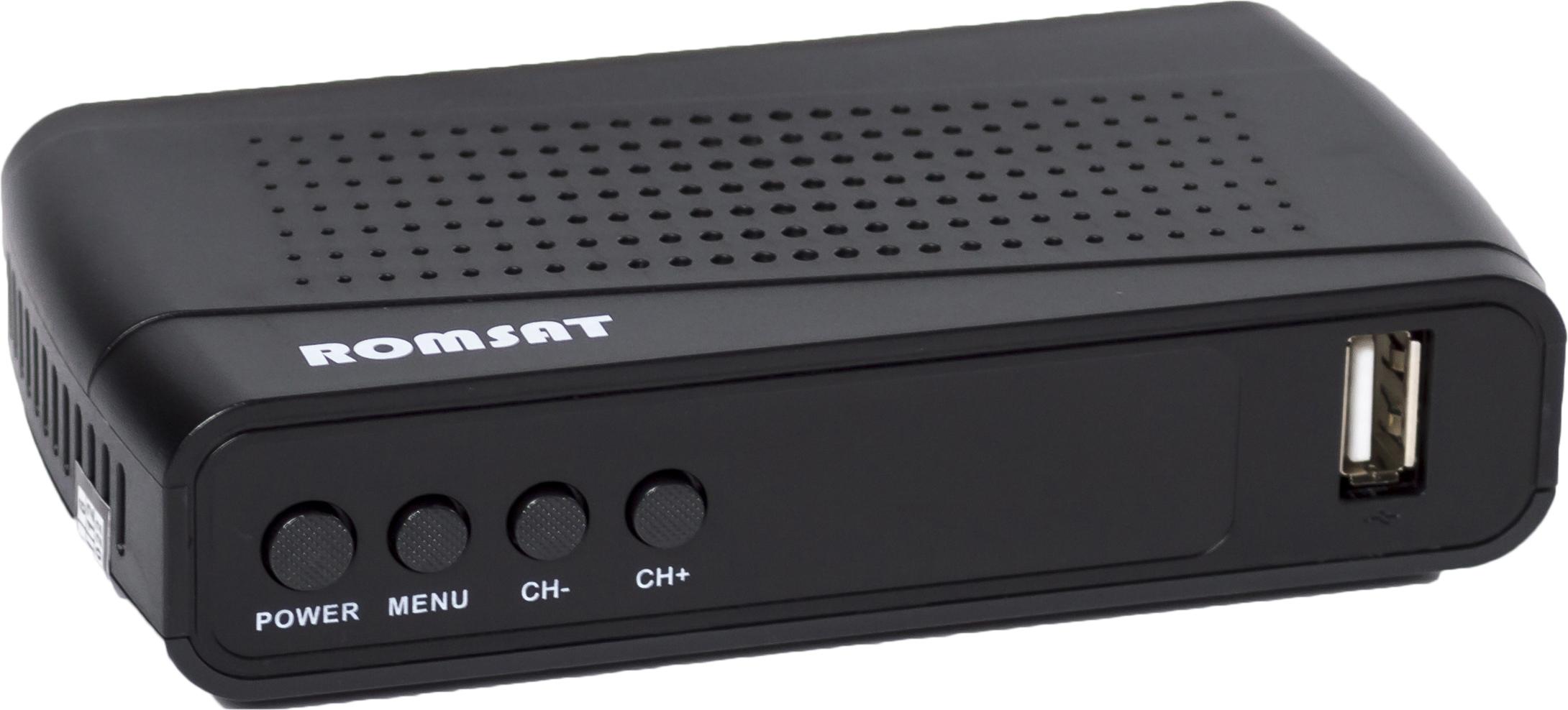 Цифровий ефірний приймач Romsat T8015HD