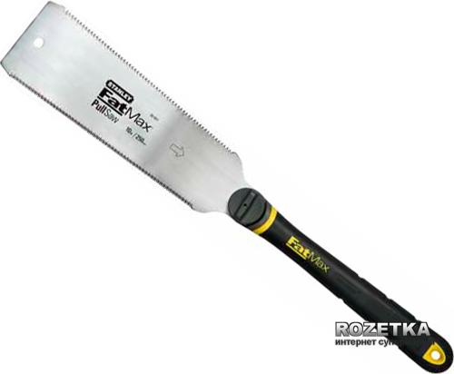Японська ножівка Stanley FatMax з двома ріжучими крайками (0-20-501)