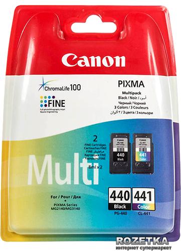 Набір картриджів Canon PG-440 / CL-441 MultiPack Cyan/Magenta/Yellow/Black