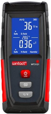 Тестер електромагнітного випромінювання Wintact WT3121