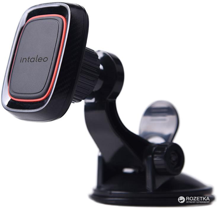 Автотримач для телефона магнітний Intaleo CM01GP Black