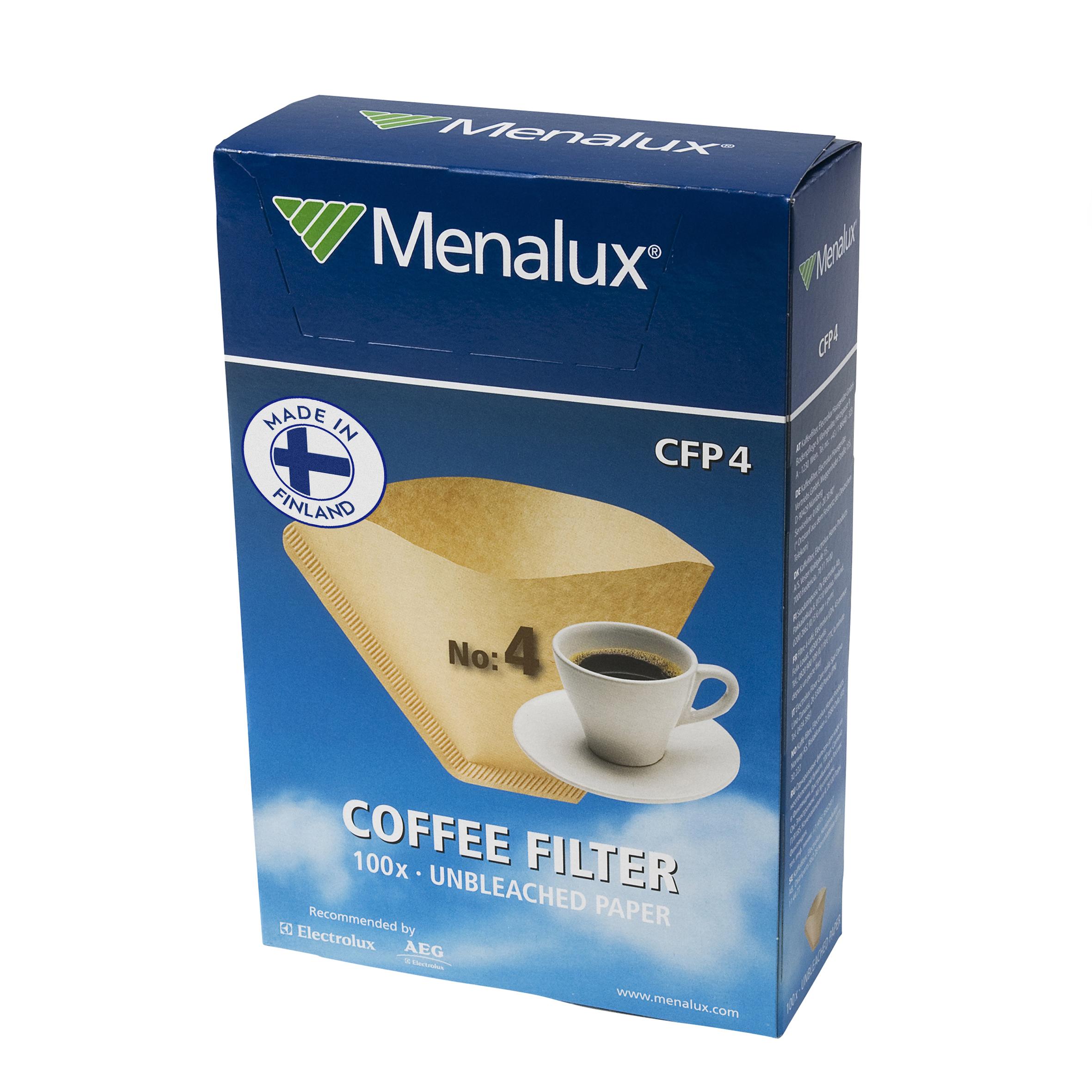 Фільтри для кавоварок MENALUX CFP4(100шт)