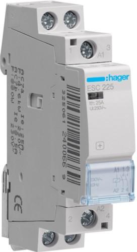 Модульний контактор Hager ESC225 230В/25А 2HB