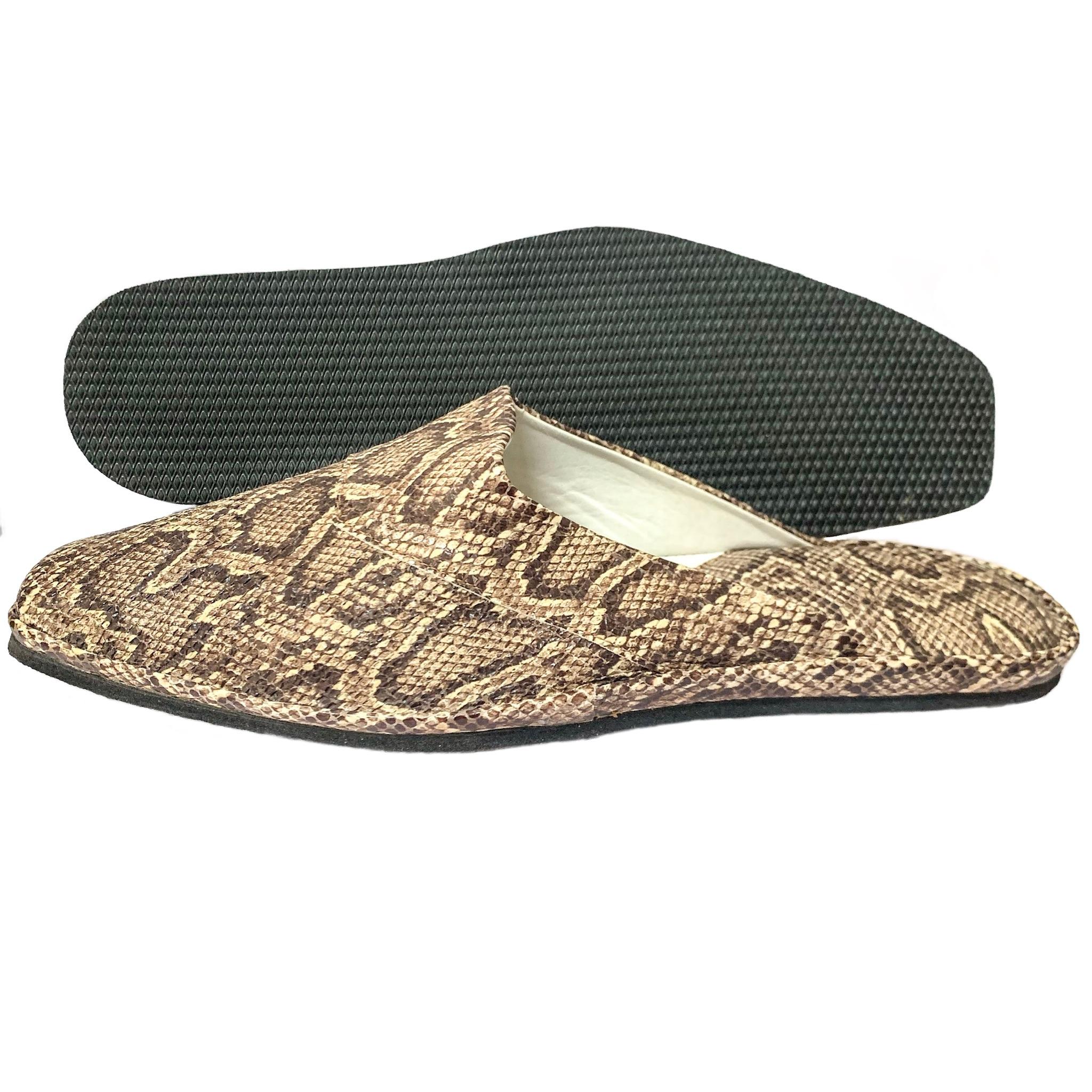 Комнатные тапочки Pellagio 903 коричневая змея 40 размер