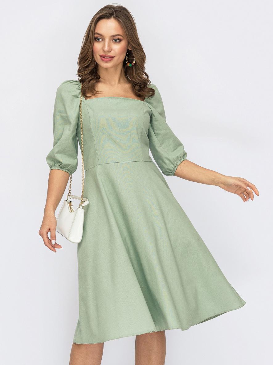 Платье Dressa 53814 42 Мятное