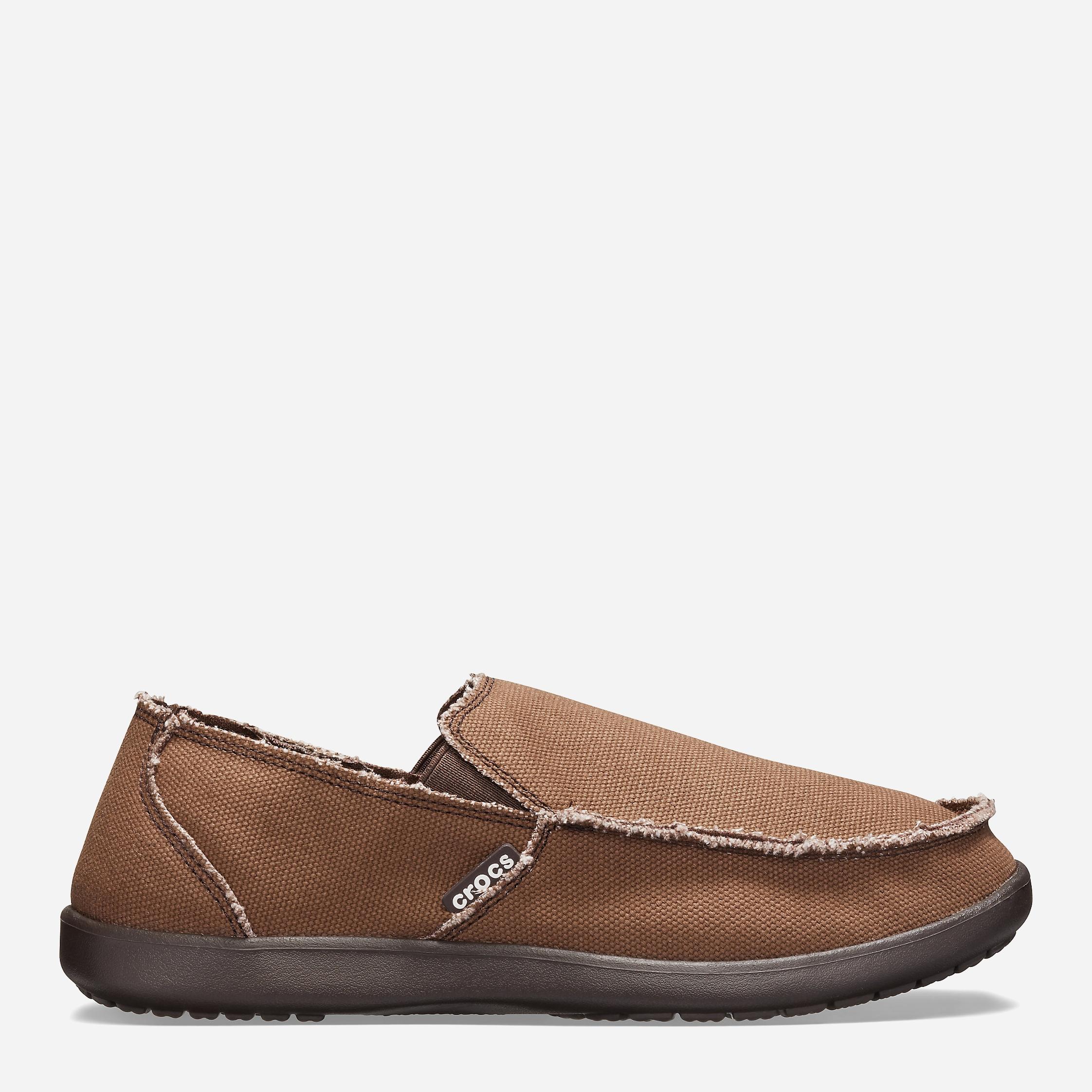 Слипоны Crocs Santa Cruz Man 10128-22Z-M9 42-43 26.3 см Коричневые (8835035552352)