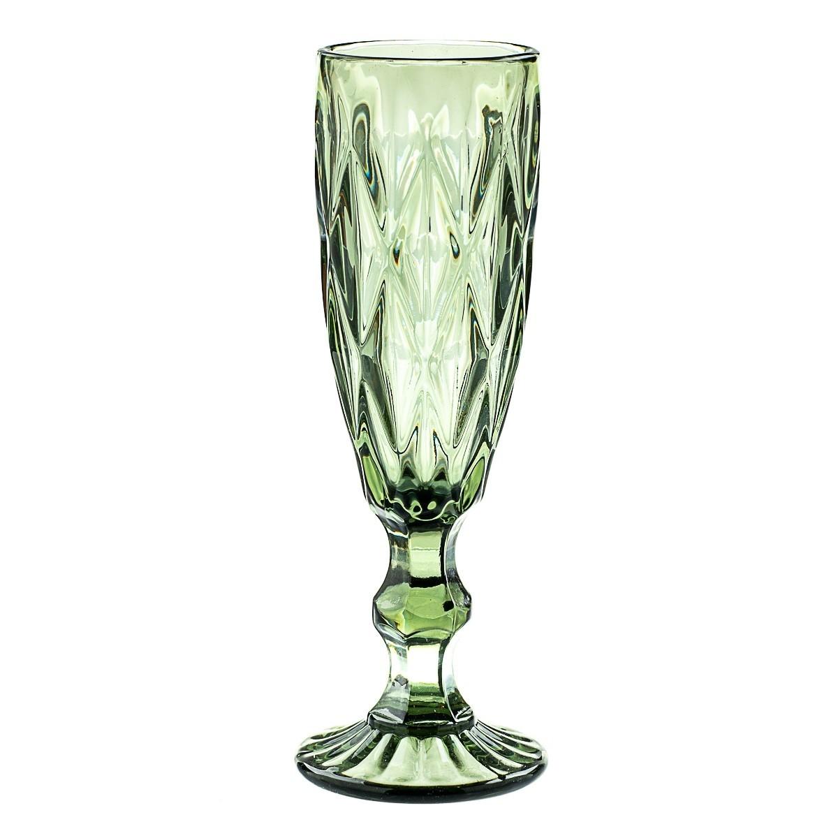 Набор бокалов Glass для шампанского Берилл 250 мл (8428-009)