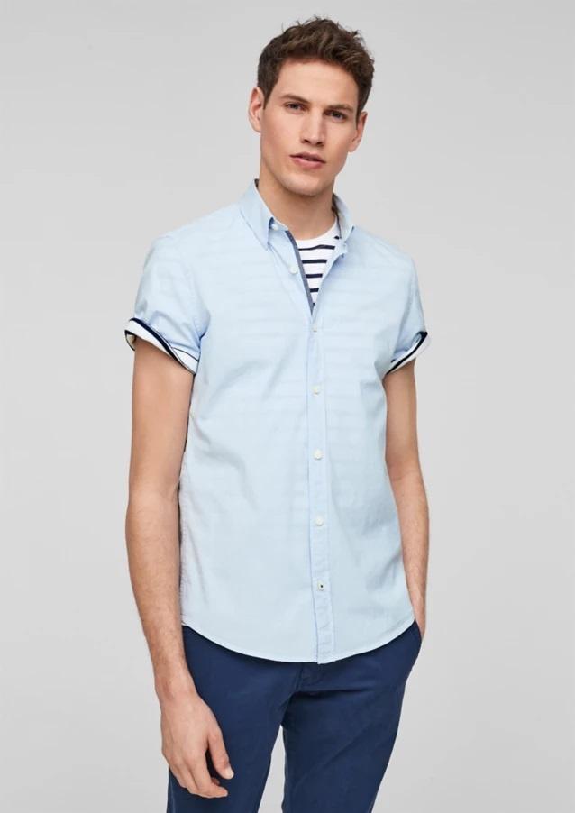 Рубашка s.Oliver L Голубой 13.103.22.X004-53G1