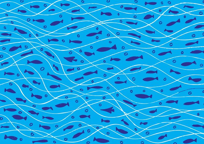 Фотообои Фоны и текстуры 'Рыбки' (2843) , Классик