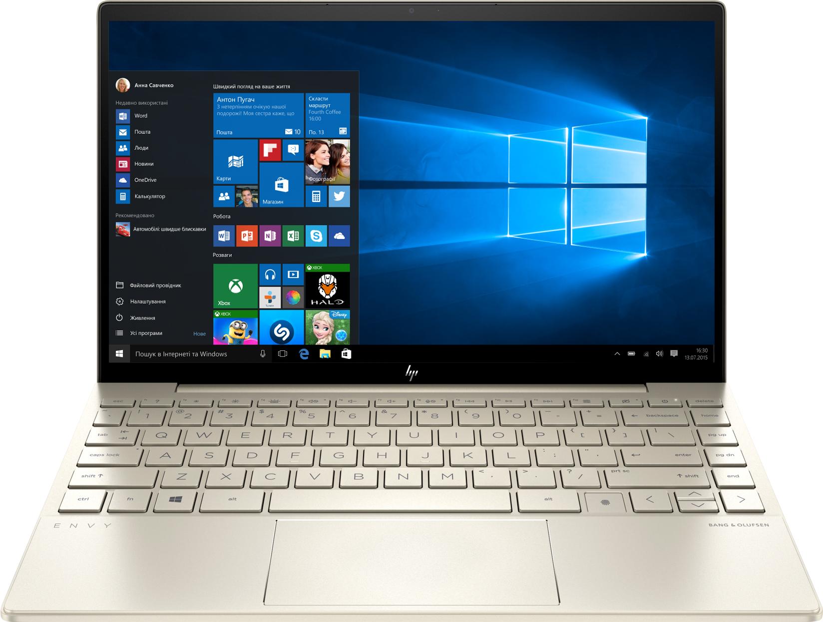Ноутбук HP Envy 13-ba1004ua  Gold