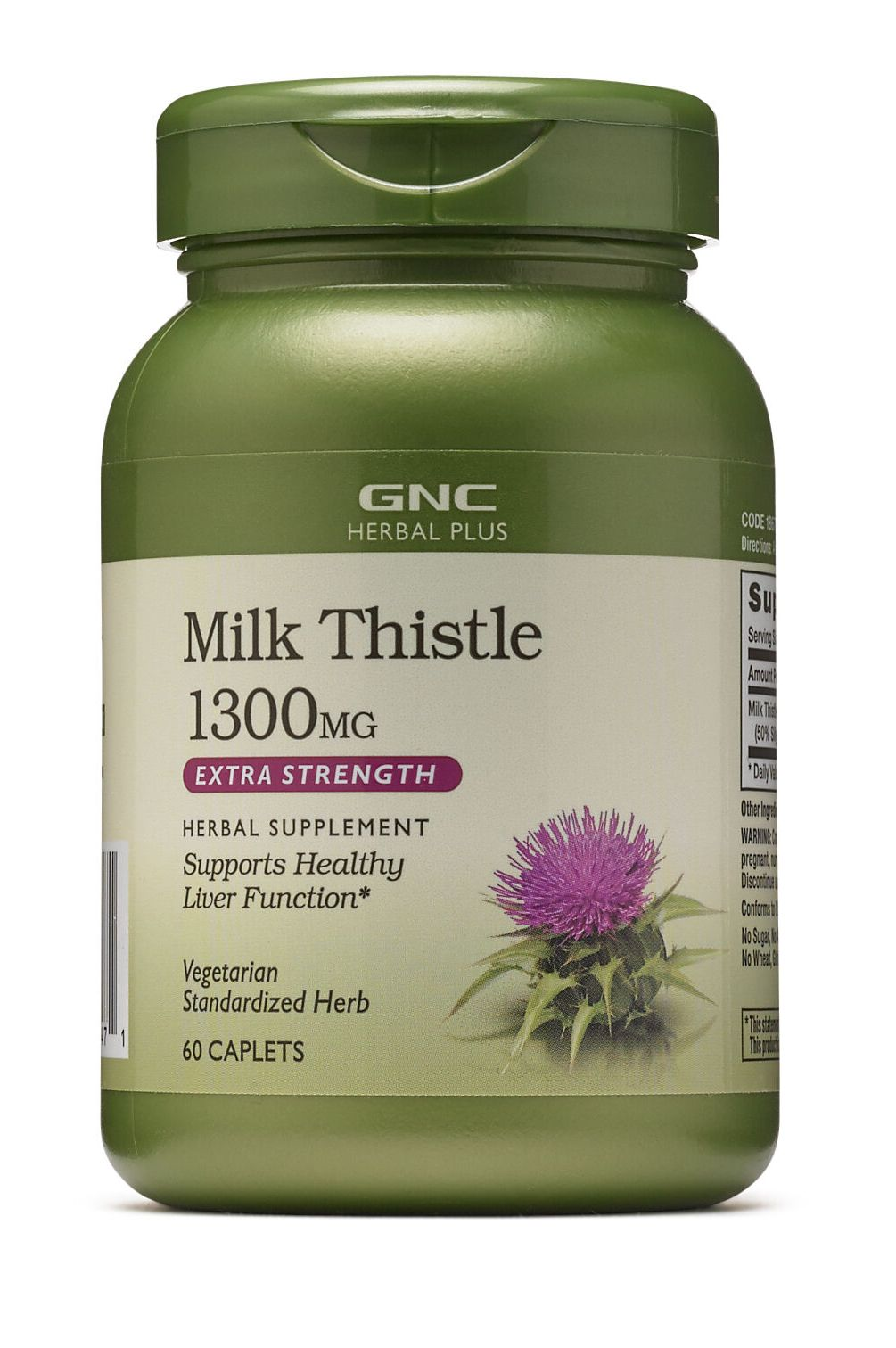 Специальный продукт GNC Milk Thistle 60 таблеток (4384303374)