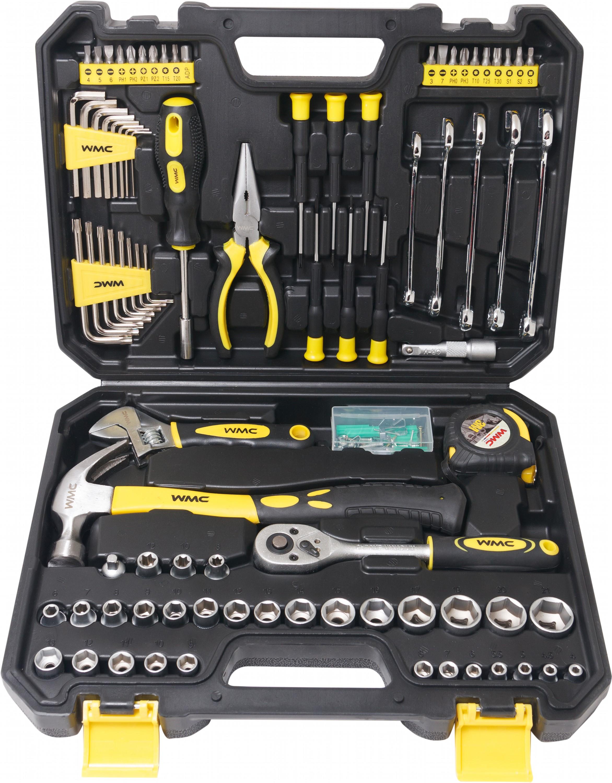 Набір інструментів WMC TOOLS 128 шт.